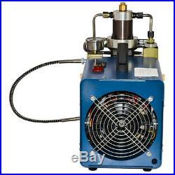 Blue Air Compressor Pump PCP High Pressure Rifle 220V/110V 30MPa