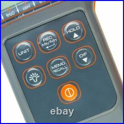 Digital Differential Air Pressure Manometer 15.000psi Gauge High Accuracy Portab