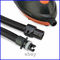 Electric Air SUP Pump, Inflatable High Pressure Pump with 5 Nozzles for Quick