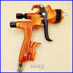 HVLP High-quality Precision Spray Gun 1.3MM Nozzle Low Air Pressure Light Weight