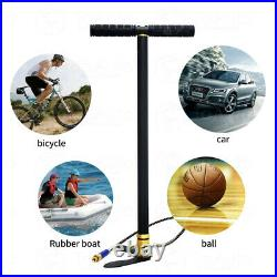 Hand Operated Air Pump High Pressure PCP Portable Diving Compressor 3Stage