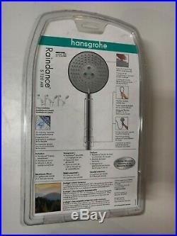 Hansgrohe 04187003 Raindance S 120 3-jet Air Handshower Set, chrome