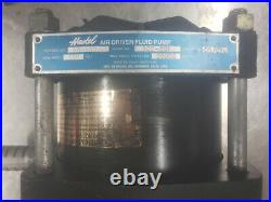 Haskel High pressure 1501 air over hydraulic pump. 15000 psi for porta power