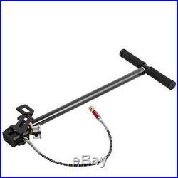 High Pressure 0-6000psi Tungsten Steel 3 Stage Hand Pump for PCP Air Gun Boat