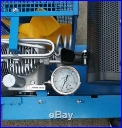 High Pressure Air Compressor HAILIN Diesel Engine 100L/min Air Cooled 4500psi
