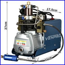 High Pressure Air Compressor Pump 30Mpa 4500PSI Electric Air Pump PCP Scuba