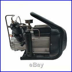 High Pressure Air Compressor Pump Electric SCUBA Paintball Tank Refill Home Use