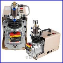 High Pressure Air Pump Electric Air Compressor for Airgun Scuba Rifle 30MPA