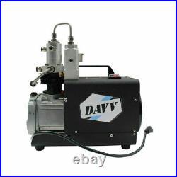 High Pressure Air compressor Pump Paintball PCP Refill Home Use Portable