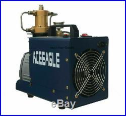 High Pressure Electric Air Pump + Oil-water separationPCP Air Compressor Pump