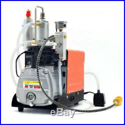High Pressure Electric PCP Air Compressor 220V 30MPa 4500PSI Scuba Diving Pump