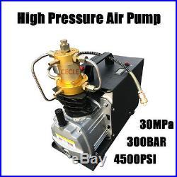 High Pressure Electric Pump PCP Air Compressor for Paintball Air Rifles110V
