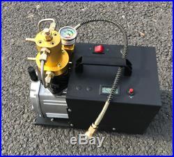 High Pressure Electric Pump PCP Air Compressor for Paintball Air Rifles