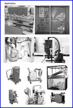 High Pressure Vacuum Pump Vortex Fan Air Blower Booster Pump 1500W 3 Phase 380V