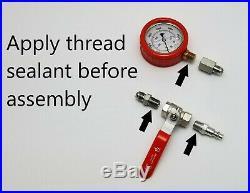International VT365 Hpop System Test Tool Kit, High Pressure Oil & Air Leak Test