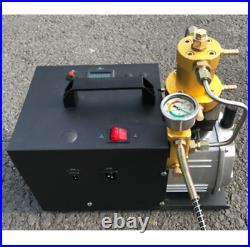 NEW High Pressure Electric Pump PCP Air Compressor for Paintball Air Rifles 110v
