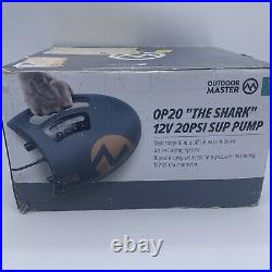 OutdoorMaster Shark High Pressure SUP Pump- Electric Air Pump with 20 PSI-OP20