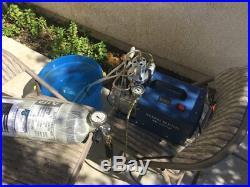 PCP 300bar 30Mpa 4500psi Electric Air Pump High Pressure Aintball Air Compressor