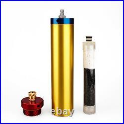 PCP Air Compressor 4500psi Oil Water Filter Separator High Pressure 30Mpa 300bar