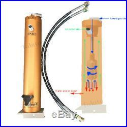 PCP Compressor Oil Water Separator 4500psi 30mpa 300bar High Pressure Air Filter