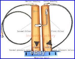 PCP Compressor Oil-Water Separator Air Filter For 30mpa High Pressure Air Pump
