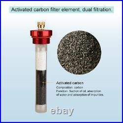PCP Compressor Oil Water Separator Filter 3000 psi High Pressure Air Pump Diving
