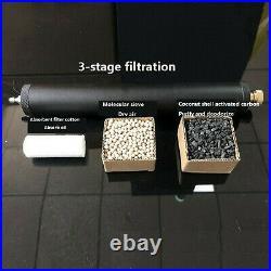 PCP Scuba Inflator Air Compressor High Pressure Air Filter Oil/ Water Separator