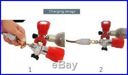 Pcp hand pump for air rifles tank high pressure 4500 psi 300 bar 30 mpa