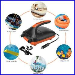 Portable SUP Electric Inflatable Pump Rubber Boat High Pressure Air Pump 20psi