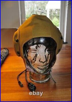 Russian Air Force GSH6A high altitude pressure flight helmet
