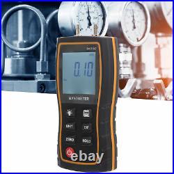 SW512C Digital Manometer High Accuracy HVAC Differential Air Pressure Tester