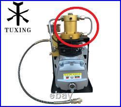 TUXING PCP Pump Air Compressor Head 4500psi 300BAR High Pressure TXES02 Cylinder
