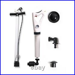 Toilet Plunger High Pressure Air Drain Blaster Sink Dredge Clog With Inflator