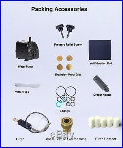 US 110V High Pressure 30MPa 4500PSI PCP Electric Air Compressor Air Pump System