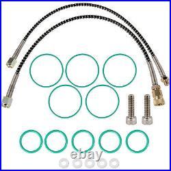 VEVOR High Pressure Air Filter, Oil Water Separator 30 MPa, 2 Filters Compressor