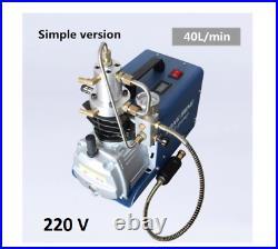 YONG HENG 30MPA 4500PSI High Pressure Air Pump Compressor PCP Airgun Scuba 220V