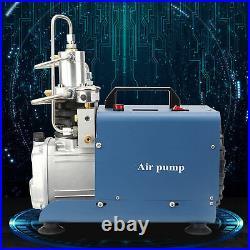 Yong Heng 30MPa High Pressure Air Pump Automatic Shutdown EU Plug 220V 50Hz